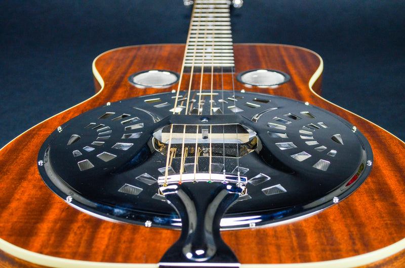 Recording King RR-61-BR Classic Squareneck Resonator Guitar Satin Brow
