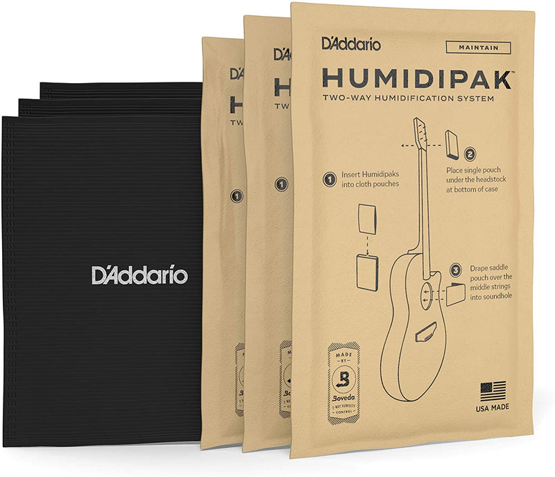 D'Addario PW-HPK-01 Humidipak Automatic Two-way Humidity Control System