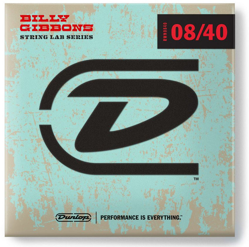 Dunlop RWN0840 Rv. Willy's Mexican Lottery Brand Nickel Plated 08-40 Fine Electric Guitar Strings