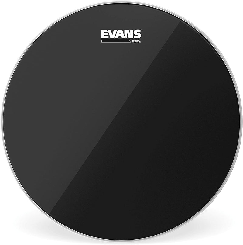 Evans TT16CHR Black Chrome Tom Batter Drum Head - 16""