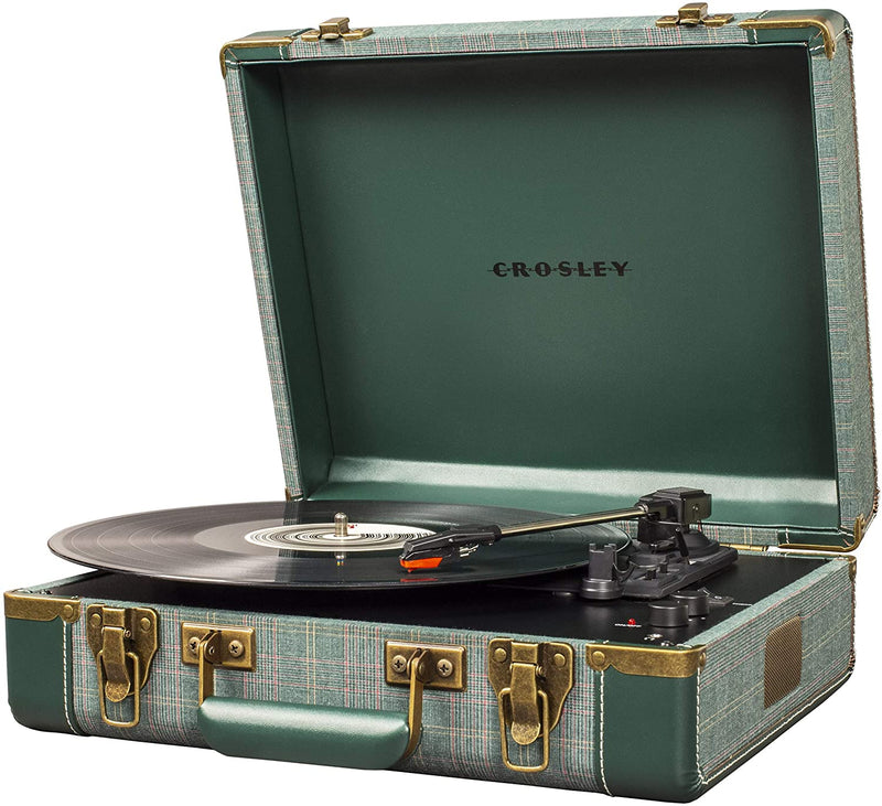 Executive Deluxe Portable USB Turntable - Pine