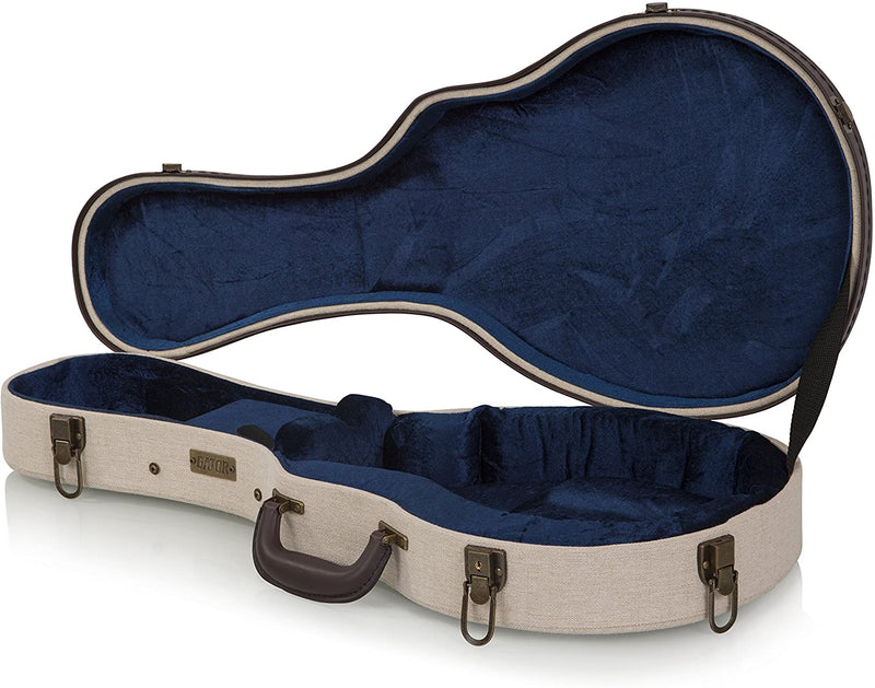 Gator Cases GW-JM MANDOLIN Journeyman Series Deluxe Wood Mandolin Case