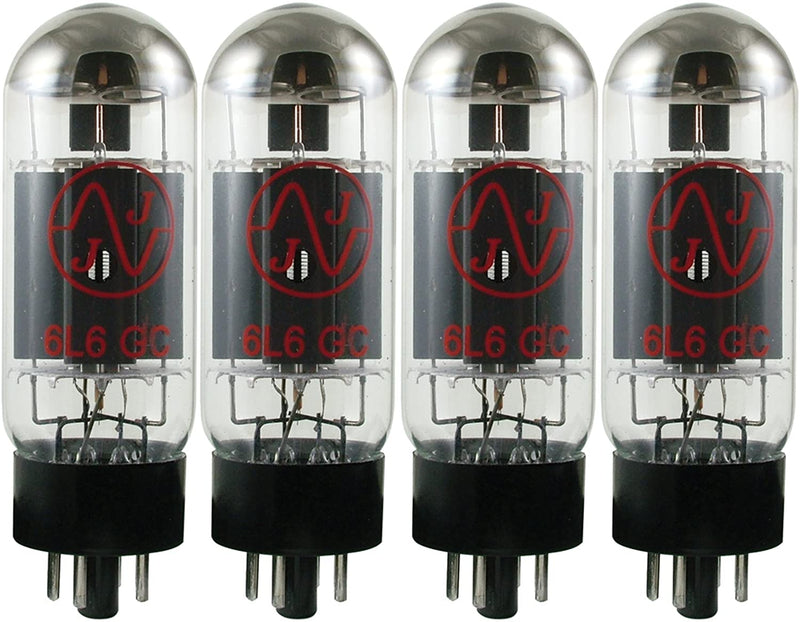 JJ Electronic 6L6GC Matched Quad (4) Burned In Tubes