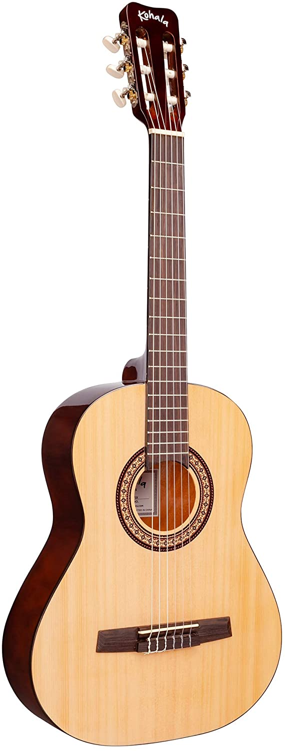 Kohala KG75N Three Quarter Size Nylon String Acoustic Guitar with Gig Bag