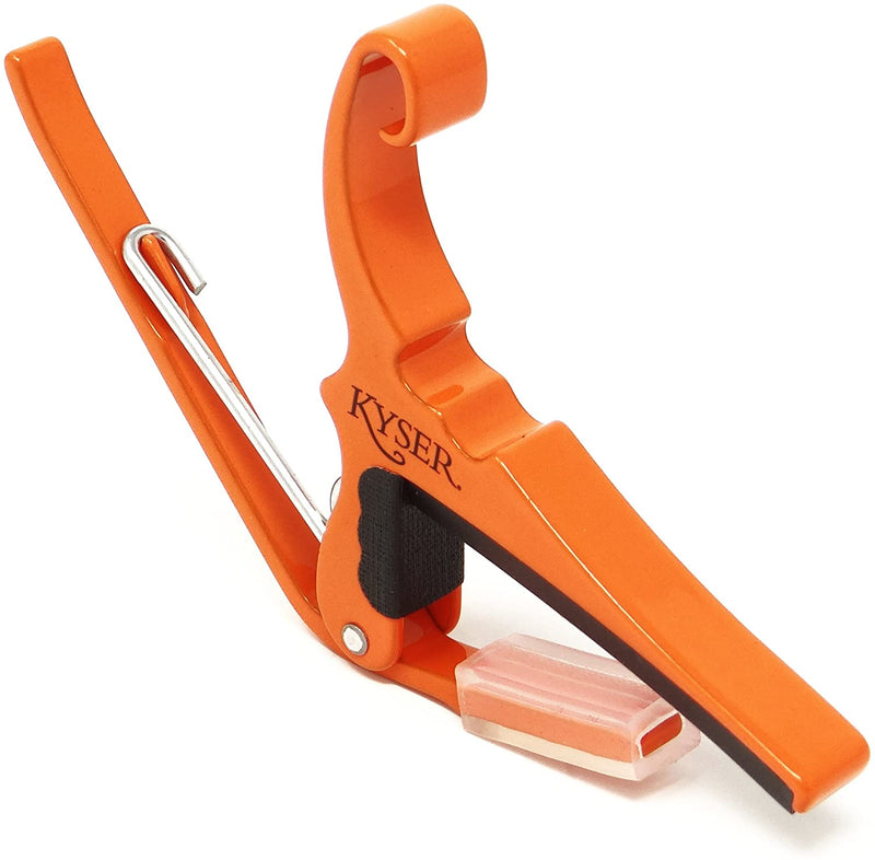 Kyser KG6O Quick-Change Capo for 6-String Acoustic Guitars - Orange