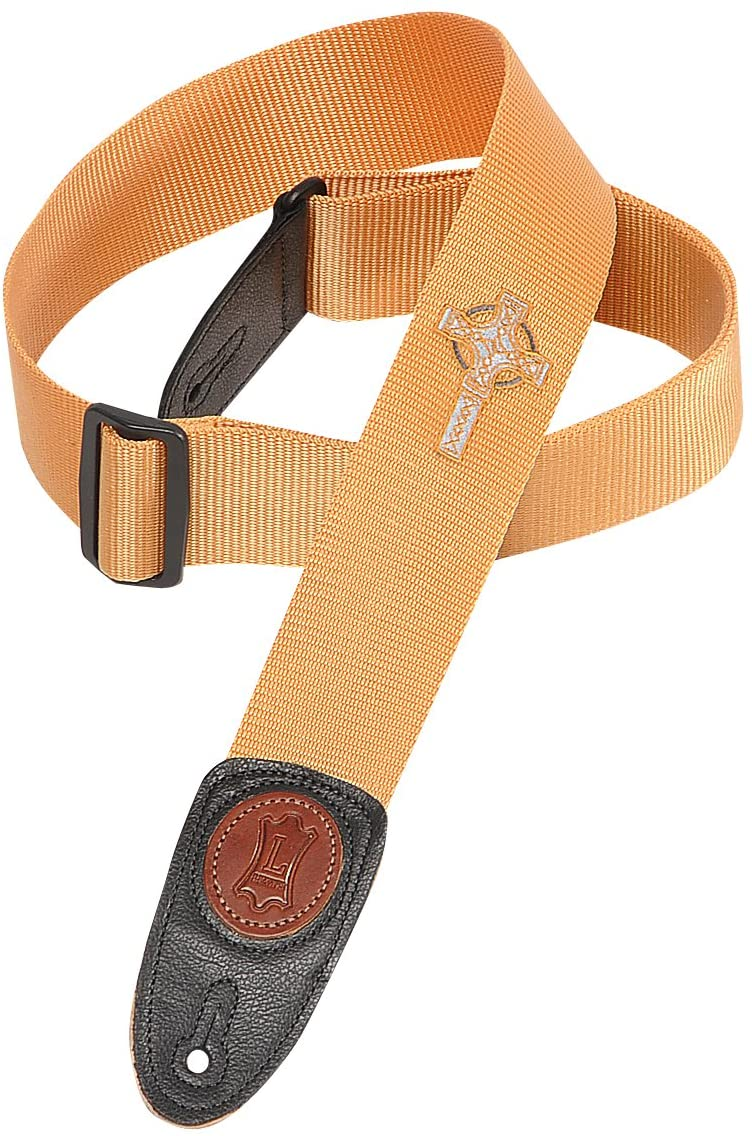 "Levy MSS8CC-TAN 2"" Soft-Hand Polypropylene Guitar Strap"