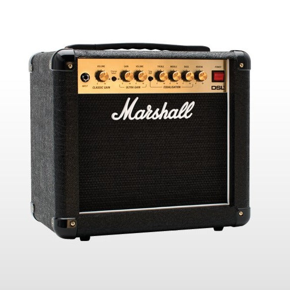 "Marshall DSL1CR 1x8"" 1-watt Tube Guitar Combo Amplifier"