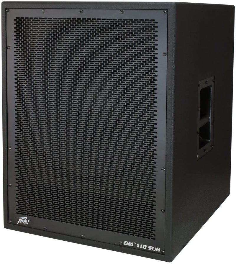 "Peavey DM118 18"" Powered Subwoofer Cabinet"
