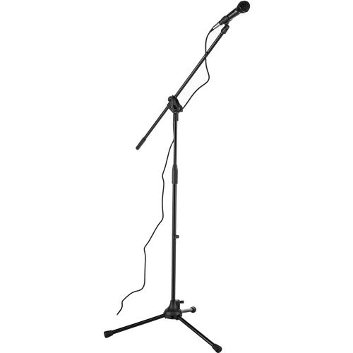 Peavey MSP1 XLR Dynamic Cardioid Microphone with XLR-XLR Cable and Mic Stand Package
