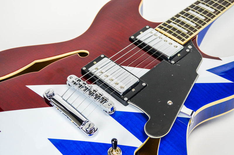D'Angelico Premier Series Grateful Dead