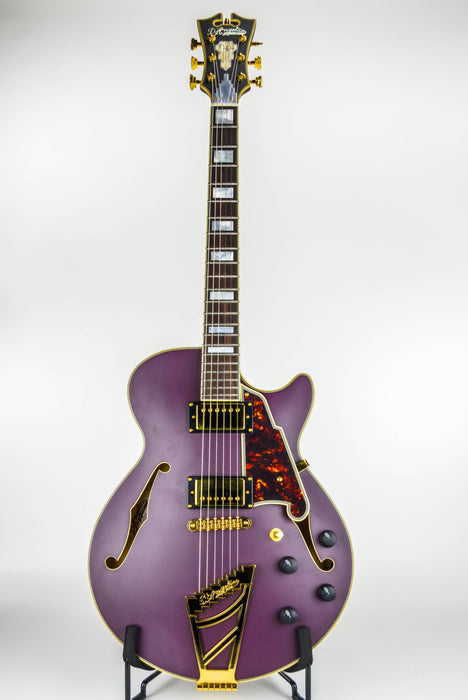 D'Angelico Deluxe SS Plum
