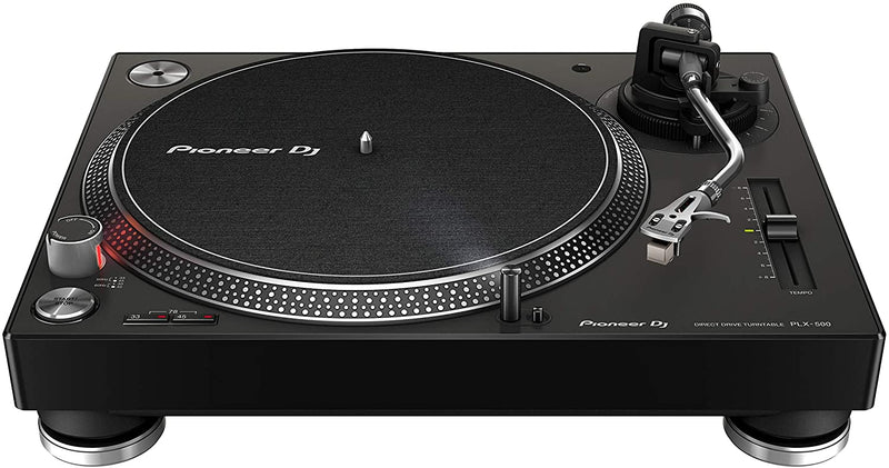 Pioneer DJ PLX-500-K Stereo Record Player - Black