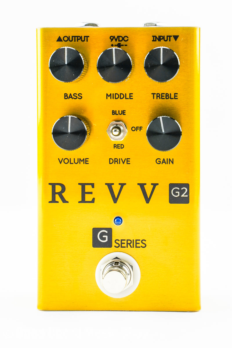 REVV G2 Overdrive Pedal Gold Edition Guitar Pedal
