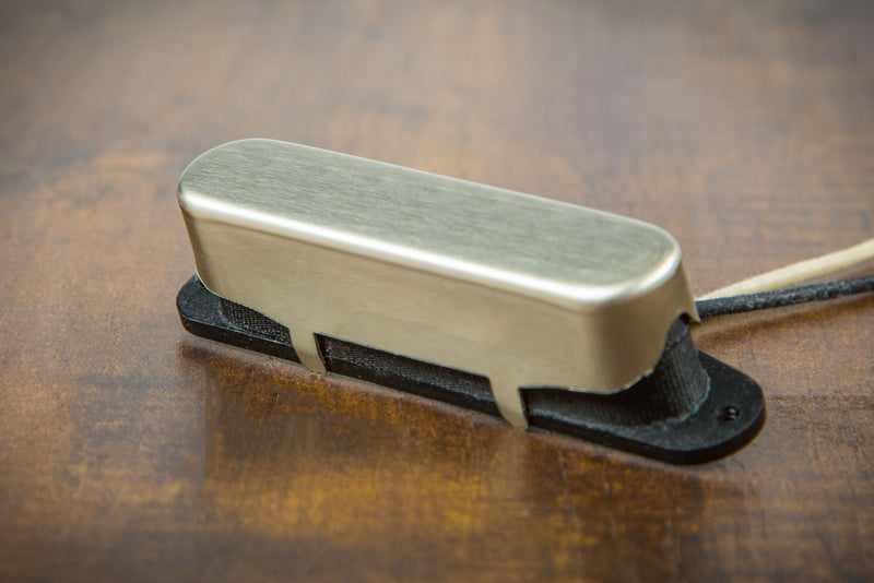 Suhr 04-WSH-0002 Woodshed T-Style Single Coil Neck Pickup, Raw Nickel