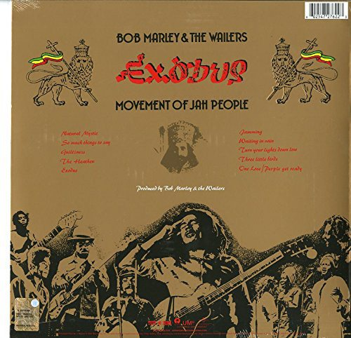 Bob Marley & The Wailers - Exodus [LP] (180 Gram, original artwork including gold metallic jacket with embossed lettering)