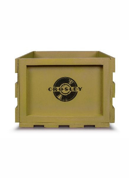 Crosley AC1004A-SG Record Storage Crate - Sage