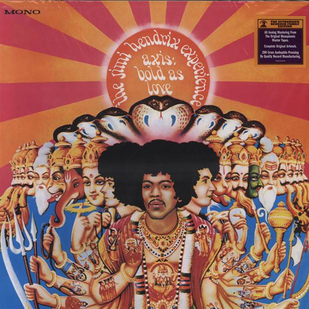 Jimi Hendrix Experience - Axis: Bold As Love [LP] (200 Gram MONO Audiophile Vinyl)