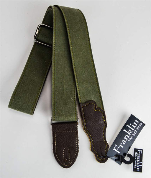 "Franklin DD-OL-CH 2"" Olive Distressed Strap"