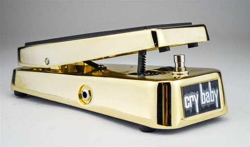 Dunlop Cry Baby GCB95G 50th Anniversary Gold Wah