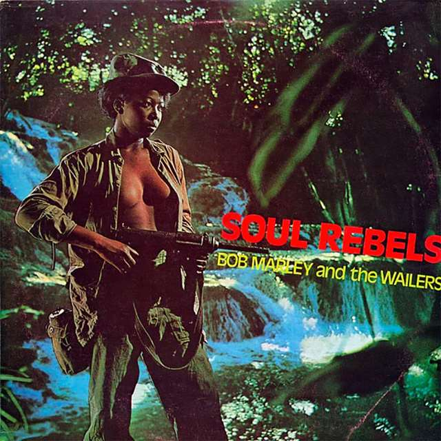Bob Marley & The Wailers - Soul Rebels [LP] (Yellow Vinyl, limited)