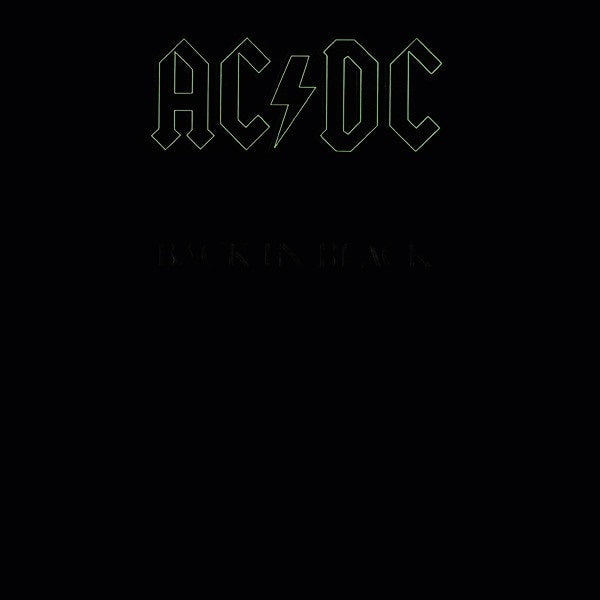 AC/DC - Back In Black [LP] (180 Gram Vinyl)