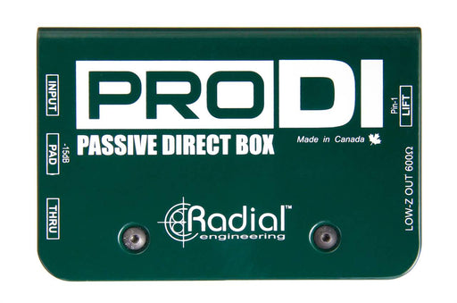 Radial R800 1100 ProDI Passive Direct Box