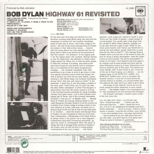Bob Dylan - Highway 61 Revisited [2LP] (Mono 180 Gram 45RPM Audiophile Vinyl, limited/numbered to 3000) [NO EXPORT TO JAPAN]