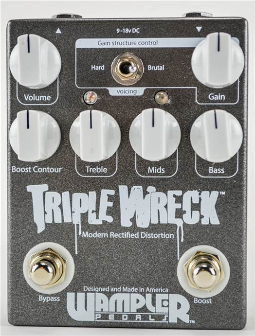 Wampler Triple Wreck Distortion Pedal
