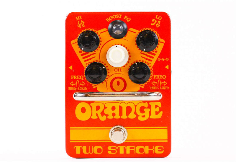 Orange Two Stroke Boost EQ, Active Dual Parametric EQ