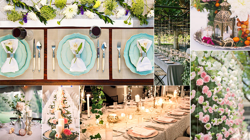 5 Helpful Hints for Decorating Your Wedding Tables