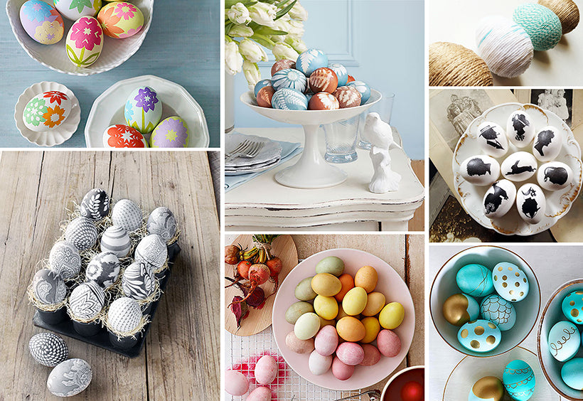 5 Chic Ways To Decorate Easter Eggs