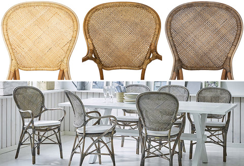 close op, chair back weave, dining tablescape