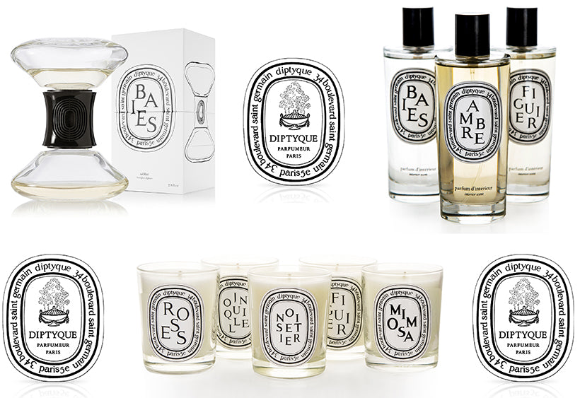 diptyque candles oils perfume