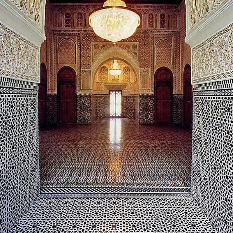 moroccan tiles cathedral