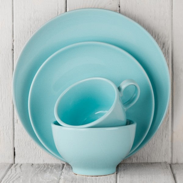 turquoise ceramic alfa dishes
