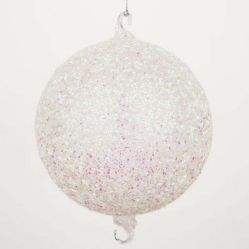 2-Hook Glitter Ball Ornaments