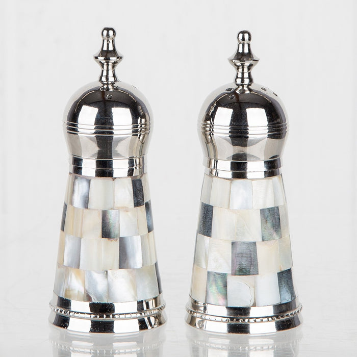 Abalone Salt and Pepper Shakers