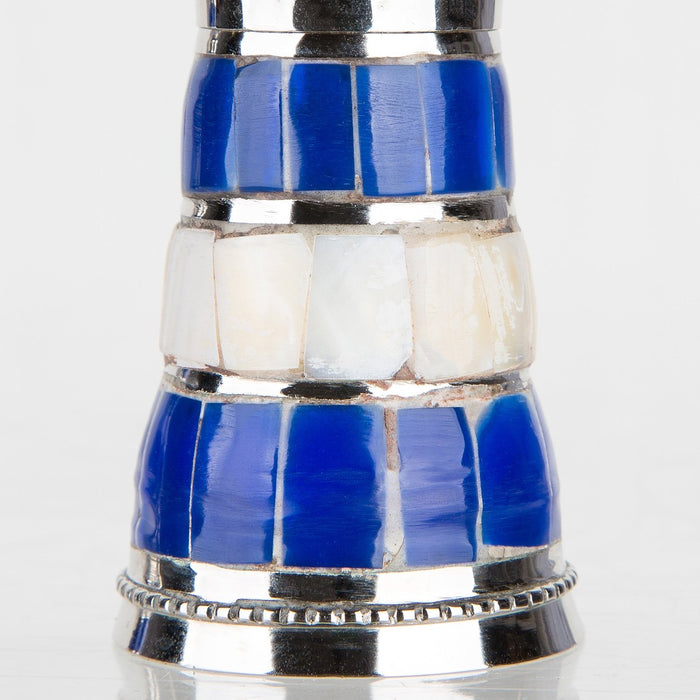 Aegan Blue Salt and Pepper Shakers
