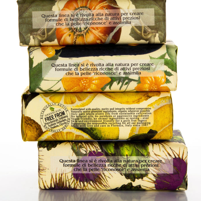 All Natural Horto Botanico Cucumber Soap (8.8oz)