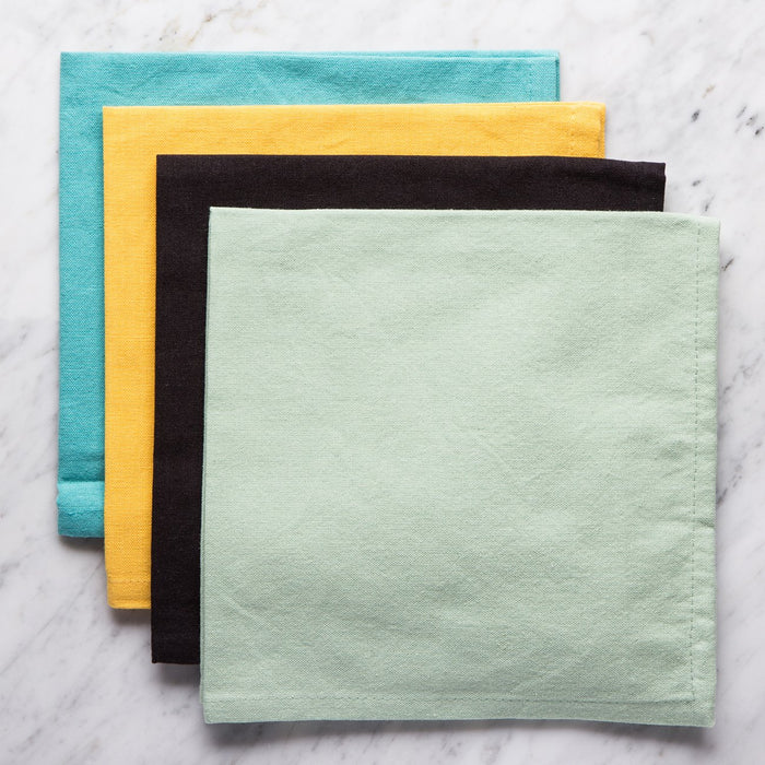 Aloe Green Ari Cotton Napkin