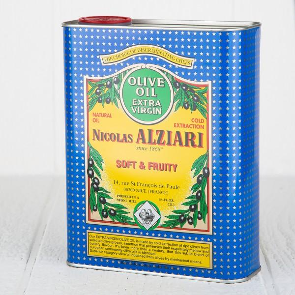 Alziari Fresh Fruit Olive Oil (2L)