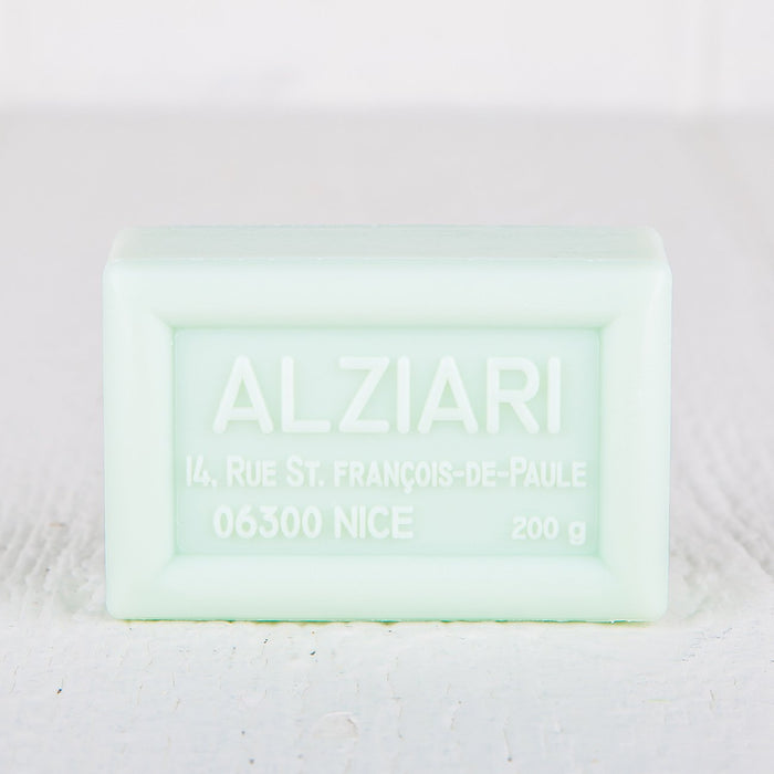 Alziari Olive Oil Tilleul Scent Bar Soap 200g