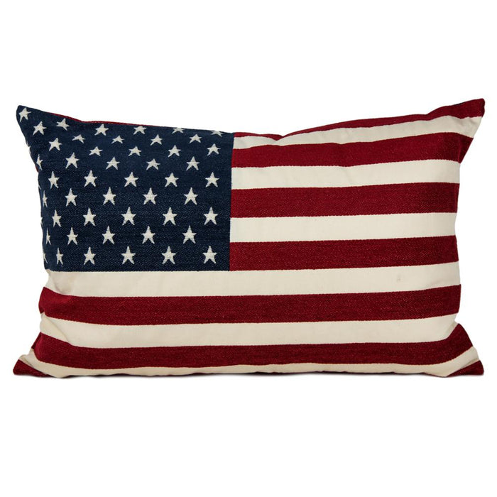 "American Flag Decorative Pillow (18"" x 26"")"