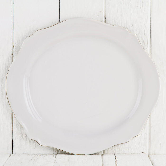 Antiqued Dinner Plate