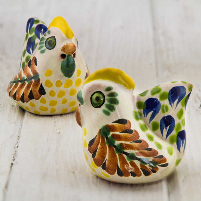 Artisan Chicken Salt and Pepper Shakers