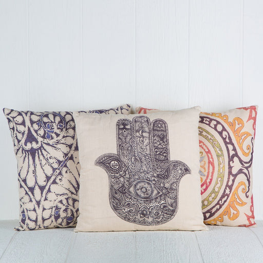 "Graphic Print Pillows (19.75 x 19.75"")"