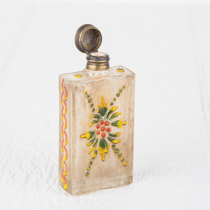 Assorted Hand Painted Antique Perfume Bottles