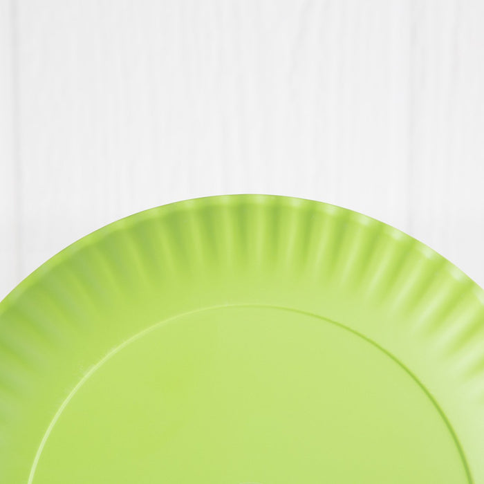 "Assorted Reusable ""Paper"" Dinner Plates"