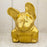 Authentic Crackled Gold Leaf French Bulldog Figurine