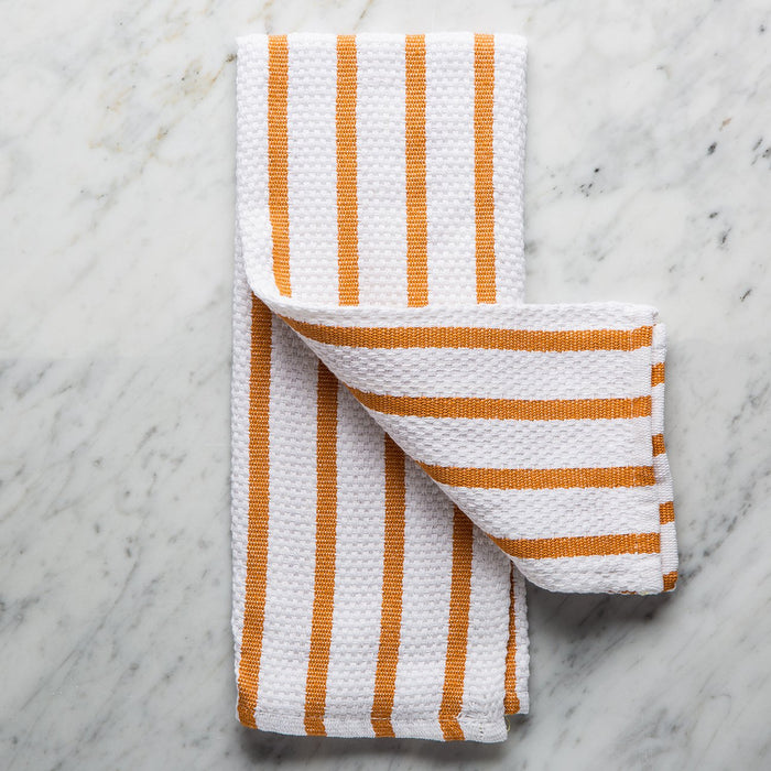 Autumn Orange Cotton Kitchen Towel